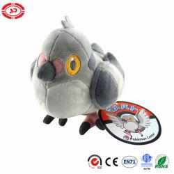 Poke Mon Popular de dibujos animados de aves de felpa de peluche juguete de calidad