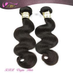 Moda trama de cabelo ondulado Virgem Cabelo humano indiano