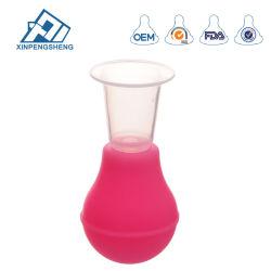 Bomba manual de la mama de silicona y tetina rectificar aparato