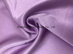 75DX150D polyester Tissu satiné pour Ladies' Garment
