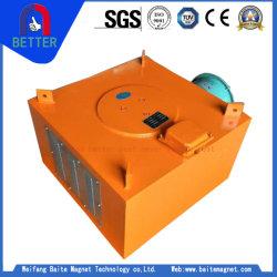 La India, Indonesia Suspention Separador de hierro magnético eléctrico de 1400mm de ancho cinturón de seguridad
