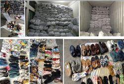 Barato Tamanho Mistos utilizados calçados sapatos de segunda mão Calçado de desporto (FF427-6)