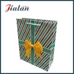 """""""Presente para você"""" com Bowknot transportadora comercial Dom Saco de papel"""