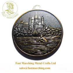 Custom подвес спорта ленты вешалки награды марки Dragon лодки медаль