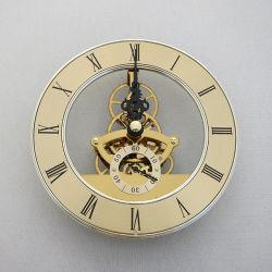 고품질 스켈레톤 쿼츠 시계 스켈레톤 시계 동작을 삽입합니다