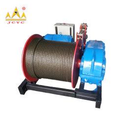 1 トン〜 30 トン大型ロープ容量建設用電動ウインチ