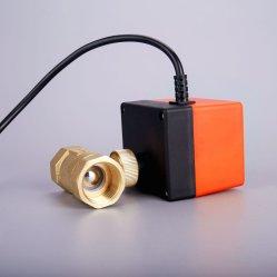 전동식 컨트롤 워터 전동 Soleniod 전기 황동 볼 밸브 액추에이터