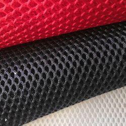 3D suave de poliéster Sandwich Separador de tejido de malla de aire para silla de oficina silla de coche zapatos