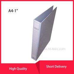 플라스틱 압축기를 가진 A4 크기 고품질 2 D-환형물 PVC 전망 바인더