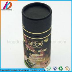 Ronda 100% reciclado Tubo de papel para frasco de óleo essencial