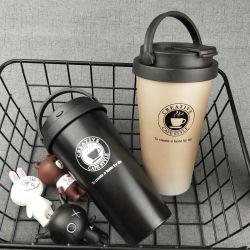 La bottiglia di Thermos dell'acciaio inossidabile di vendita/il regalo caldi della tazza della chiavetta caffè di corsa imposta/insieme isolato della tazza di corsa