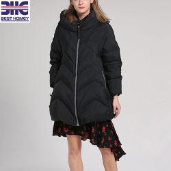 Les femmes Noir Veste d'hiver pour les dames lâche Vêtements d'hiver
