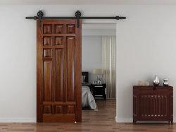 Опускное стекло задней двери система сарай двери оборудование для дерева сдвижной двери