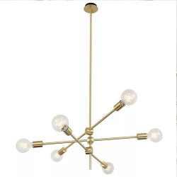 Nórdico moderno comedor iluminación decorativa LED lámpara colgante lámpara de araña