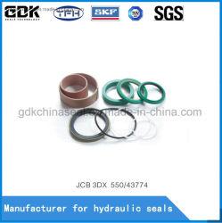 Jcb partes separadas do cilindro hidráulico do Kit de Vedação para 3DX 550/43774