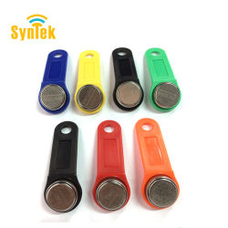 Смешанный цвет ручки Dallas DS1990A DS1990 F5 Серийный номер i-кнопка iButton электронный ключ Ib Tag карты брелков