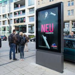Наружное освещение LED рекламы платы блок освещения Mupis рекламных знаков