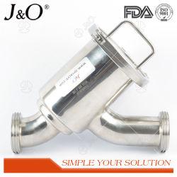 Het y-Type van Water van het Roestvrij staal van de Rang van het voedsel Zeef Ingepaste Sanitaire Filter