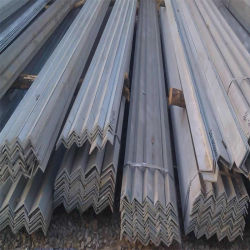 Ms perfiles de acero laminado en caliente, tamaños de ángulo de acero, acero inoxidable el ángulo de hierro