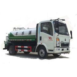 Sinotruk HOWO 4X2 8-10cbm agua camión cisterna de agua camión tanque de agua
