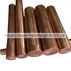 C11600 C23000 C71520 de la barra de latón de cobre rojo