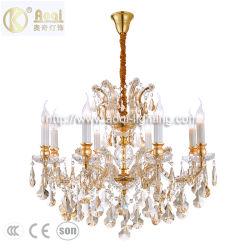 Lampada a sospensione con lampadario in cristallo di nuovo stile moderno (AQ-50108-8)