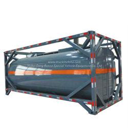 Cisternas de la onu contenedor ISO 20 pies de la ONU de la imagen de2797, líquido de la batería, álcalis de Naoh (máx. 50%) , Naclo (máx. 10%)