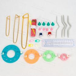 Plastikmarkierungs-Halter-Nadel-Klipp-Fertigkeit-strickende Minihäkelarbeit, die Heftung 50PCS/Bag sperrt