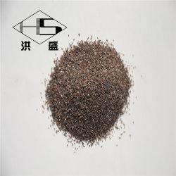 95 % Al2O3 Oxyde d'aluminium brun sable/gravier pour la vente