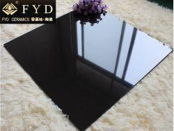 60*60 Solid Color super poli noir tuile en porcelaine non émaillée (FC6003)