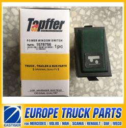 Переключатель стеклоподъемника 1578756 деталей для грузовиков Volvo