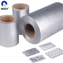 Rouleau d'impression personnalisée de l'Aluminium Aluminium Aluminium d'emballage pharmaceutique
