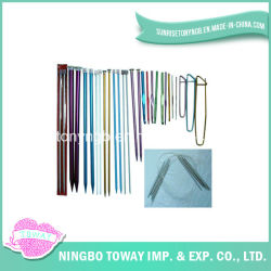 Bamboe Plastic Porselein Crochet Custom hand Knitting Space Needle