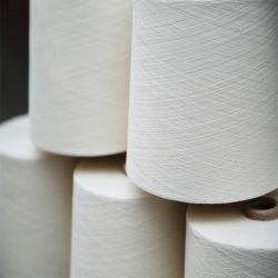 Heißer Verkauf aufbereitetes organisches Baumwollgarn für das Spinnen
