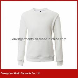 Custom печать флис удлиненной худи мужские члены экипажа горловины хлопок Sweatshirt (T373)