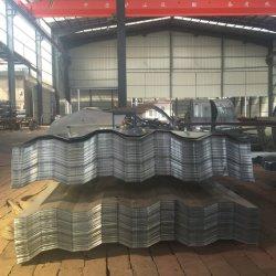 波形シートの建築材料に屋根を付ける亜鉛コーティング水証拠によって電流を通される鋼鉄金属