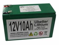 Oplaadbare 12V10ah LiFePO4-startbatterij met hoge ontlaadstroom