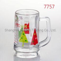 15oz a impressão de Natal personalizados de Cerveja Oktoberfest Copo de vidro