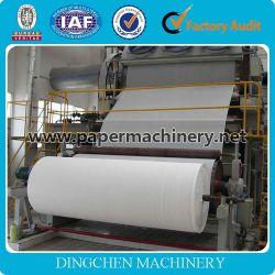 Zhengzhou Hot la vente de 1575 mm 3-4T/D Machine à papier de tissus, les matières premières : les déchets de papier, cellulose, pâte à papier vierge, la pâte de bois