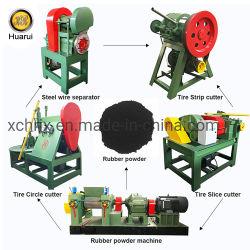 Рециркуляция воздуха в шинах машины используется для резинового порошка / гранул