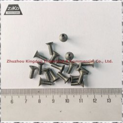 99,95% чистоты полированной молибден/Tungsten Nail-Pure вольфрама часть/Tungsten гайки/ Tungsten болты