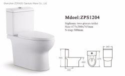 American Standard Dual Flush Siphonic deux pièces ensemble de toilette WC Salle de bains Articles sanitaires Cheap placard de l'eau