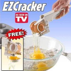 На заводе прямой продажи пищевой пластиковой яйцо взломщик