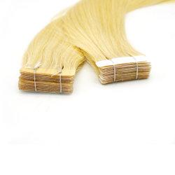 """20 """" #613テープRemyの毛の拡張ブロンドのまっすぐで継ぎ目が無い前担保付き"""