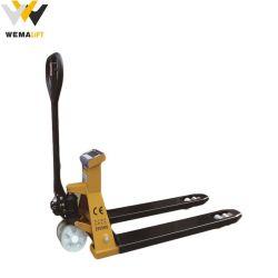 Ce ручной гидравлический погрузчик для транспортировки поддонов поднимите погрузчик для транспортировки поддонов со шкалой