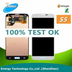 جهاز الالتقاط الرقمي بشاشة LCD للهاتف المحمول مع شاشة تعمل باللمس لـ Samsung Galaxy S5، لشاشة Samsung Galaxy S5 LCD التي تعمل باللمس بأفضل سعر