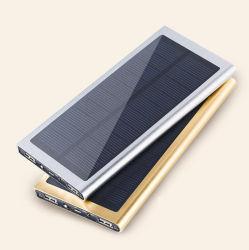 Banco de energía móvil Solar 8000-20000 mAh Shenzhen China Logo gratis para MP3 teléfono