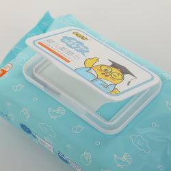 OEMの赤ん坊のワイプの自然な赤ん坊は柔らかい赤ん坊のワイプを拭く