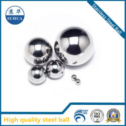 La precisión de bajo precio de metal pequeña bola de acero inoxidable 316 3,175 mm