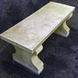 中国の製造の熱い販売の緑の石造りの切り分ける大理石のベンチMbc010